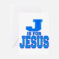 J is for Jesus Greeting Cards (Pk of 10)