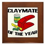 Clay - Claymate of the Year Framed Tile