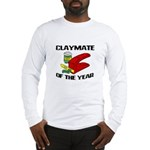 Clay - Claymate of the Year Long Sleeve T-Shirt