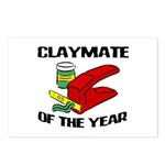 Clay - Claymate of the Year Postcards (Package of