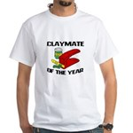 Clay - Claymate of the Year White T-Shirt