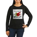 Clay - Claymate of the Year Women's Long Sleeve Da
