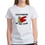 Clay - Claymate of the Year Women's T-Shirt