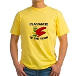 Clay - Claymate of the Year Yellow T-Shirt