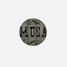Musa, Western Themed Mini Button