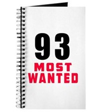 93 most wanted Journal