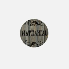 Nathanial, Western Themed Mini Button