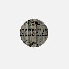 Nehemiah, Western Themed Mini Button