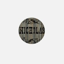 Nicholas, Western Themed Mini Button
