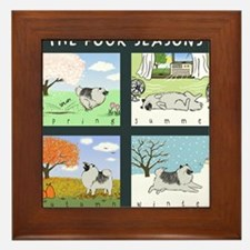 4seasonsmousepad Framed Tile