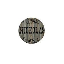Nickolas, Western Themed Mini Button