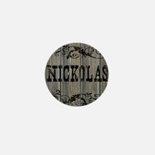 Nickolas, Western Themed Mini Button