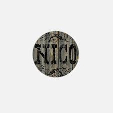 Nico, Western Themed Mini Button