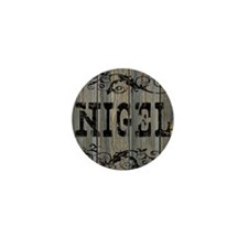 Nigel, Western Themed Mini Button