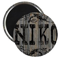 Niko, Western Themed Magnet