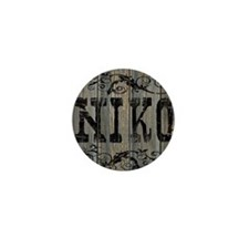 Niko, Western Themed Mini Button