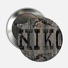 "Niko, Western Themed 2.25"" Button"