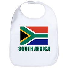 South Africa Flag Bib