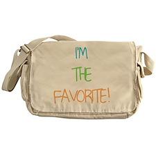 IM THE FAVORITE BOY Messenger Bag