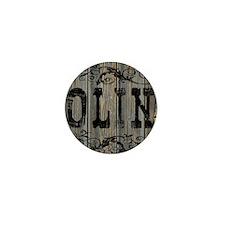Olin, Western Themed Mini Button