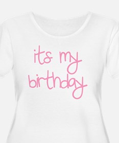 its my birthd T-Shirt