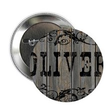 "Oliver, Western Themed 2.25"" Button"