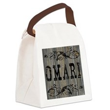 Omari, Western Themed Canvas Lunch Bag