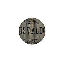 Osvaldo, Western Themed Mini Button