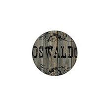 Oswaldo, Western Themed Mini Button