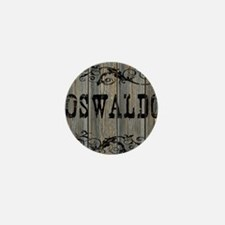 Oswaldo, Western Themed Mini Button