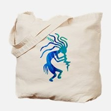 Taos Moon Kokopelli Tote Bag