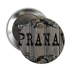 "Pranav, Western Themed 2.25"" Button"