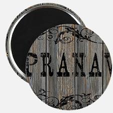 Pranav, Western Themed Magnet