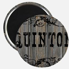 Quinton, Western Themed Magnet