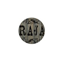 Raja, Western Themed Mini Button