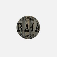 Raja, Western Themed Mini Button