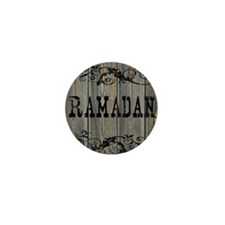 Ramadan, Western Themed Mini Button