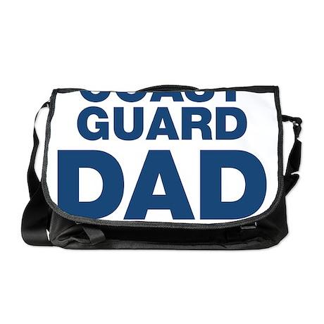 Coast Guard Dad Messenger Bag