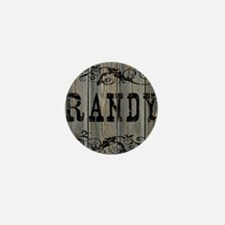 Randy, Western Themed Mini Button