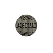 Reginald, Western Themed Mini Button