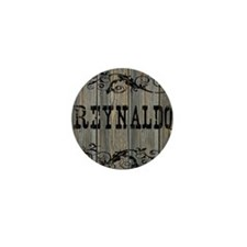 Reynaldo, Western Themed Mini Button