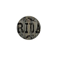 Rida, Western Themed Mini Button