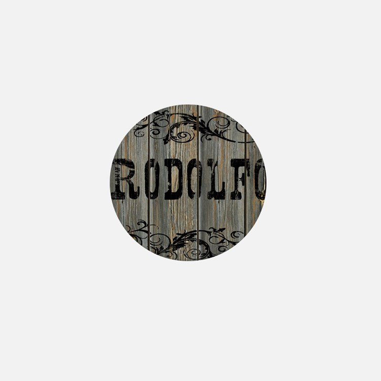 Rodolfo, Western Themed Mini Button