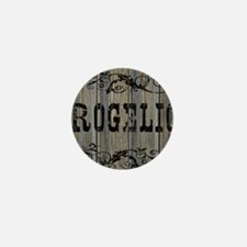 Rogelio, Western Themed Mini Button