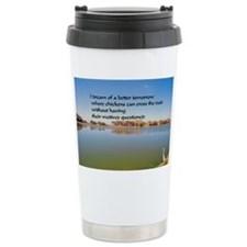chickens5.5x3.5 Travel Coffee Mug