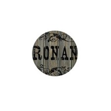 Ronan, Western Themed Mini Button