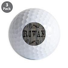 Rowan, Western Themed Golf Ball