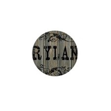 Rylan, Western Themed Mini Button