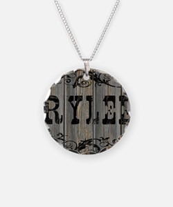 Rylee, Western Themed Necklace Circle Charm