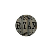 Ryan, Western Themed Mini Button